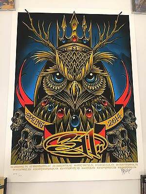311 Maxx242 Blue Owl Poster Spring 2014 Signed & Numbered