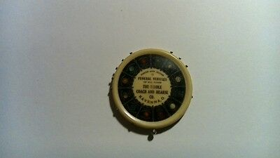 HORSE & MOTOR FUNERAL VEHICLES RIDDLE COACH HEARSE CO RAVENNA OH Pocket Mirror