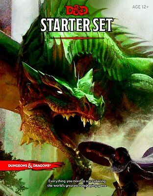 D&d Starter Set - Dungeons & Dragons Rpg - Fantasy Role Playing Game - Brand New
