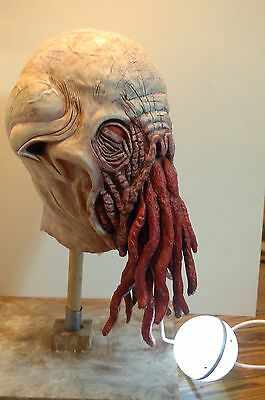 Ood Latex Mask *unpainted* Collectible Or Cosplay Dr. Who Creature Version 1