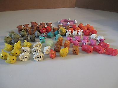 Vintage Gumball Machine Jelly Squishy Animal Snap Changeable Charm Bracelet Lot