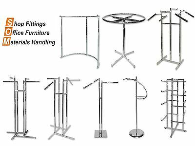 Shop Equipment Display Clothing Racks