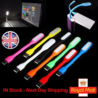USB LED Light Flexible Bright Portable Lamp PC Computer Laptop Notebook Reading