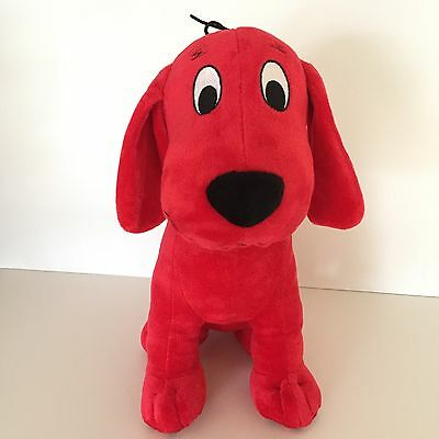 "Clifford The Big Red Dog Kohls Care 14"" Plush Stuffed Animal"