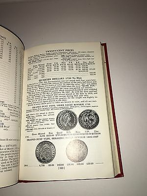 Guide Book United States Coin 25th Edition Red Book 1972 Reference Book.