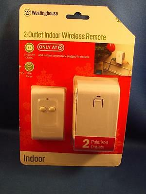 Westinghouse 2 Outlet Indoor Wireless Remote BRAND NEW Free Shipping!