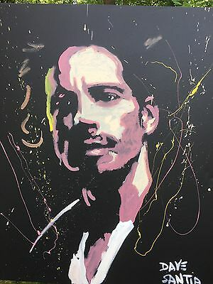 Chris Cornell Speed Painting By Dave Santia