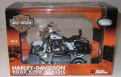 Die-cast Promotions Harley Davidson Road King Classic – 1:12 scale, NEW MIB