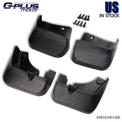4PCS Mud Flaps Splash Guards Fender Mudguard Kit For 2008-2013 SUBARU Forester