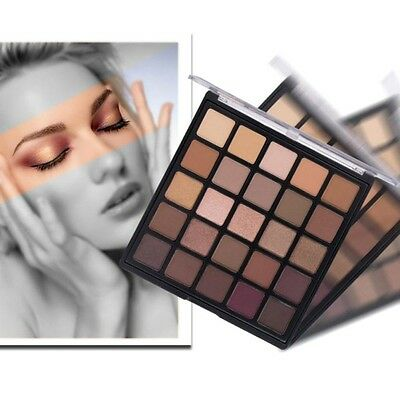 25 Colors Set Matte Shimmer Eyeshadow Pearl Palette Cosmetic Makeup Neutral Nude