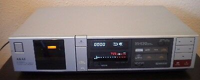 Vintage Akai HX-R44 Stereo Single Cassette Player / Recorder - Made in Japan