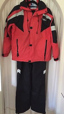 Ski snow set pants and jacket crane size M