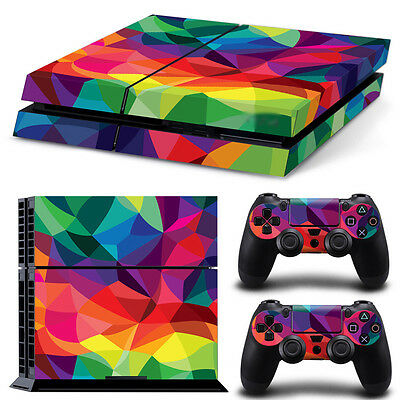 Colorful 3 PS4 Playstation 4 Decal Skin Sticker NEW