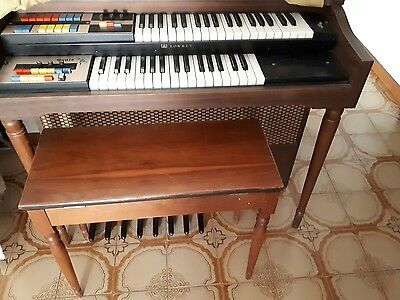Antique electric organ