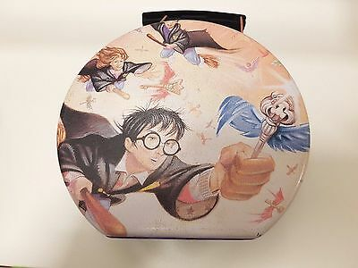 Playworks Harry Potter Round Tin Carry lunch box good condition