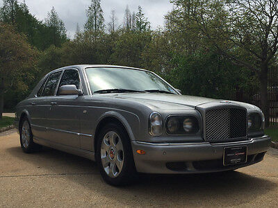 2000 Bentley Arnage  low mile free shipping warranty cheap luxury exotic red label turbo collector