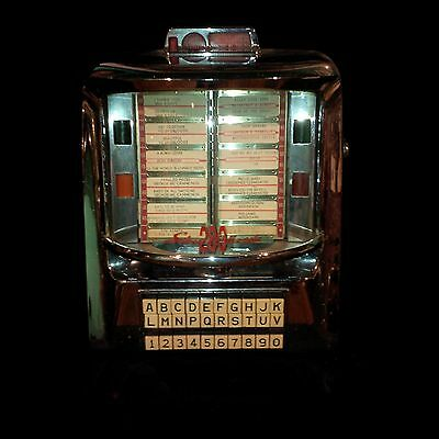 """REDUCED"" Vintage 50's Seeburg 200 JukeBox Wall-O-Matic"