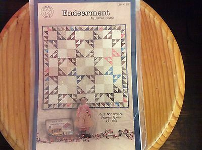 """QUILT & DOLL PATTERN   """" ENDEARMENT"""" by RENEE PLAINS"""