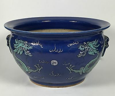 Chinese Art 19Th Century Blue Incense Burner