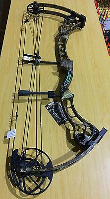 Martin Afflictor Compound Bow Kit LH 70# Mossy Oak (#MA70)