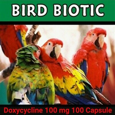 Bird Biotic Doxycycline 100mg 100 capsules free shipping