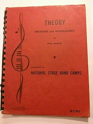 Theory Method and Workbook, National Stage Band Camps, Phil Rizzo