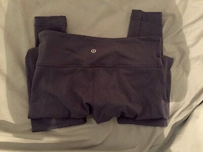 Lululemon Wunder Under Purple Leggings Size 6