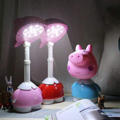 Blue Colour Peppa Pig LED chargeable Light
