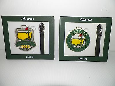 New Masters Golf Bag Tags new in box $21.95 for each tag. FREE shipping