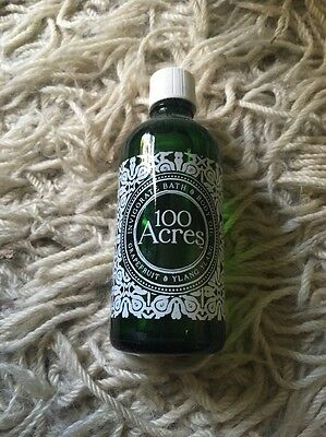 100 Acres Bath And Body Oil Grapefruit And Ylang Ylang