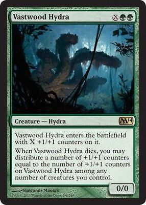 Vastwood Hydra - Rare - M14 MTG Magic the Gathering Trading Card