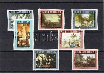 Guiné Bissau stamp Anniversary of French revolution, paintings, stamp WS572