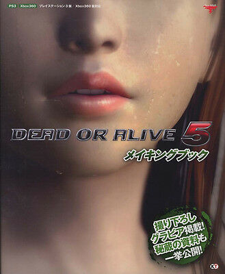 DEAD OR ALIVE 5 Making Book JAPAN art works ps3 xbox 360 mook doa