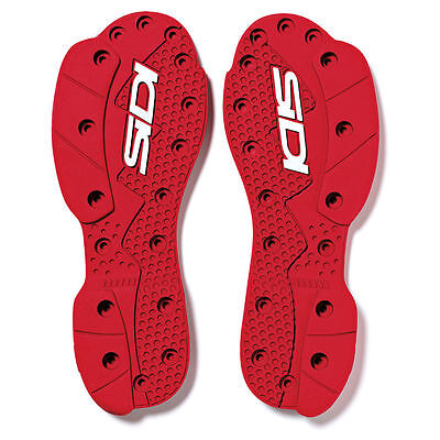 Sidi SMS Supermoto Sohle Rot NR:46 Grösse: 40-42 Crossfire 2 SRS Stiefel