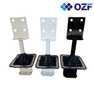 Roof extender bracket powder coated