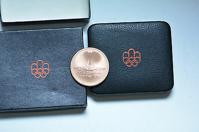 Official Olympic Participation Medal Montreal 1976 in original case