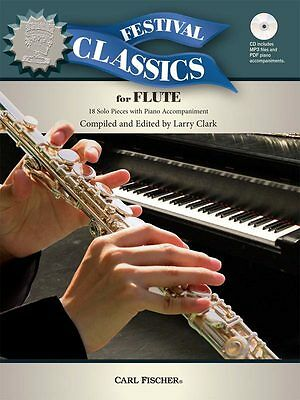 Festival Classics for Flute - Solo Flute Music Book with CD-ROM
