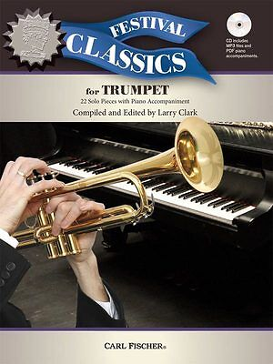 Festival Classics for Trumpet - Solo Trumpet Music Book with CD-ROM