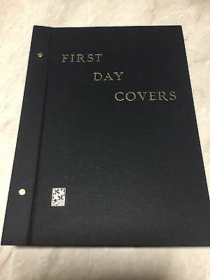 Davo First Day Cover Album 27 Double Sided Pages