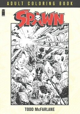 Spawn Coloring Book by Todd McFarlane Paperback Book (English)