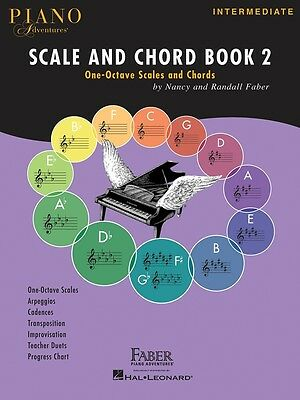 Piano Adventures Scale and Chord Book 2 - Intermediate Piano Music Book