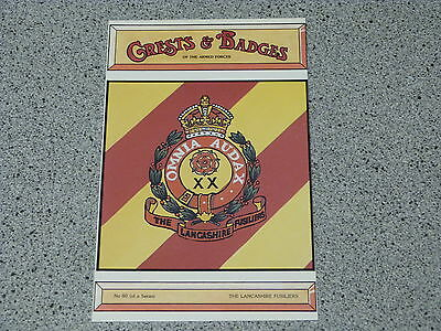 Crests and Badges of the Armed Forces 80 The LANCASHIRE FUSILIERS