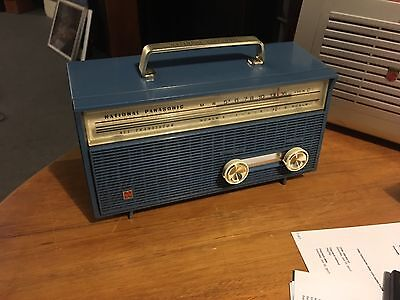 Panasonic All Transistor 6 Radio 1960's Classic Model RL-134 4D Cell Like New !!