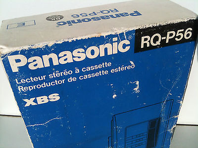 Panasonic RQ-P56 Walkman Stereo Cassette Player graphic EQ ,Metal NEW ! with box