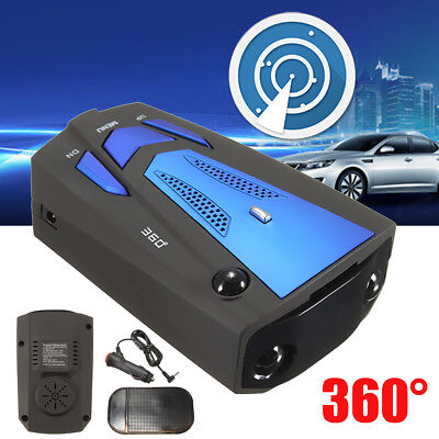 360° Car Laser Speed Radar Detector Camera Safety V7 GPS Anti Police Voice Alert