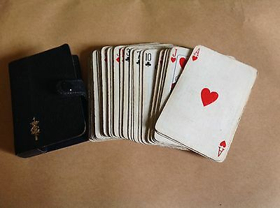 miniature playing cards