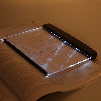 Portable LED Read Panel Light Book Reading Lamp Night Vision Eye-Protecting  AU