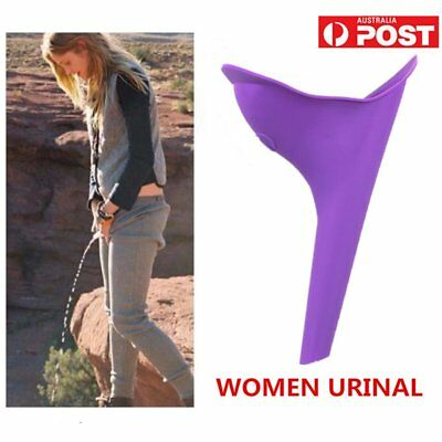 Portable Female Women Urinal Camping Travel Urination Toilet Urine Device  AU
