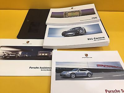 Porsche 911 Carrera 997 - Owner's Manual and Pouch