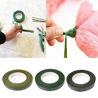 Floral Stem Tape Florist Green Corsages Buttonhole Artificial Flower Stamen Wrap